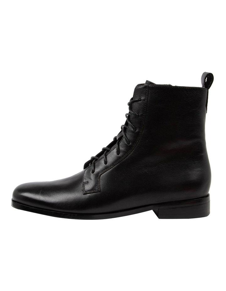 Fiolet Black Combat Boot image 3