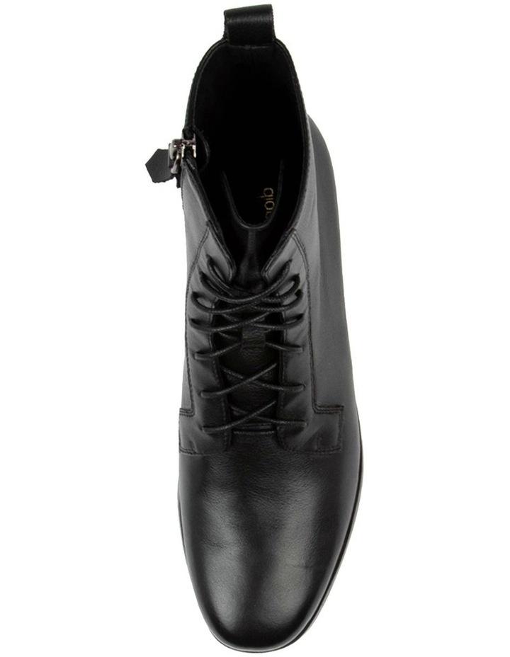 Fiolet Black Combat Boot image 4
