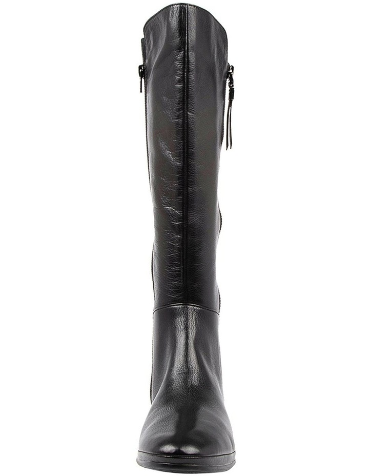 Omindy Black Long Boot image 4