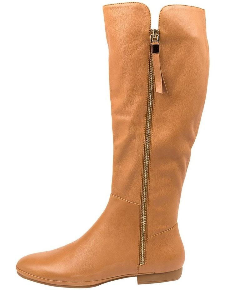 Omindy Dark Tan Long Boot image 3