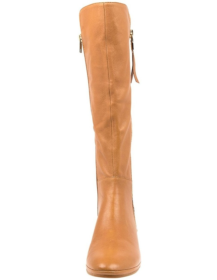 Omindy Dark Tan Long Boot image 4