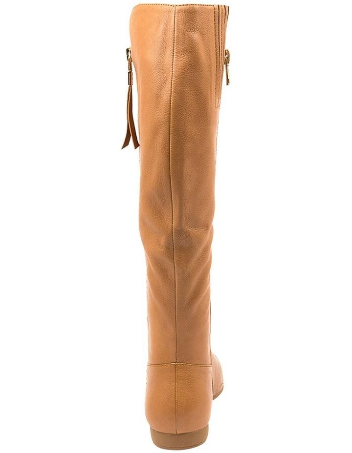 Omindy Dark Tan Long Boot image 5