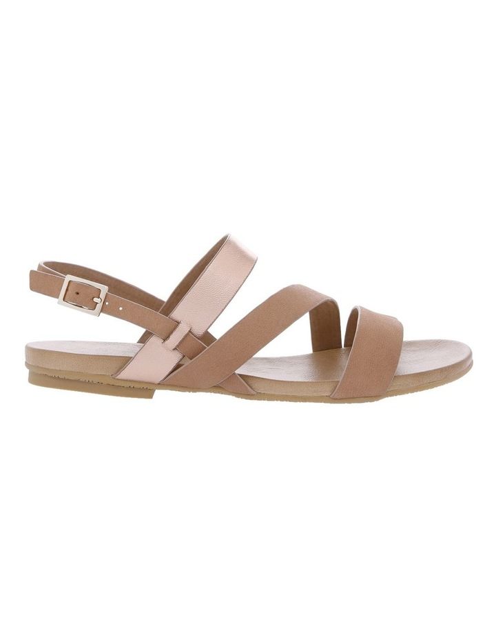 Laruse Rose Gold and Nappa Sandal image 1