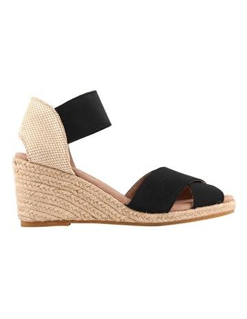 9894f50d33b8 Diana FerrariZee Black Sandal