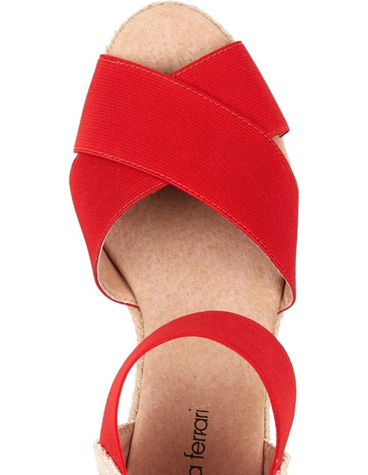 Zee Red Sandal image 3