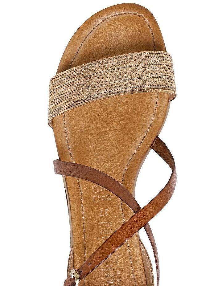 Balli Platnium/ Tan Sandal image 4
