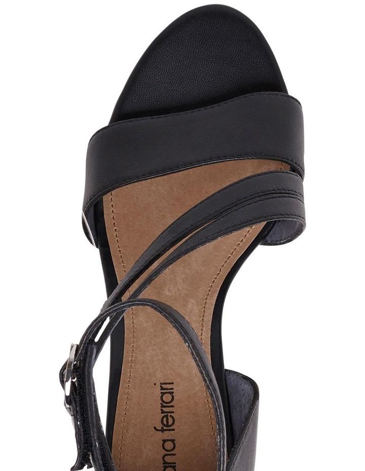 Yiva Black Sandal image 4