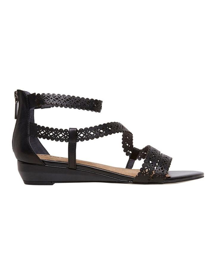 Zelena Black Sandal image 1