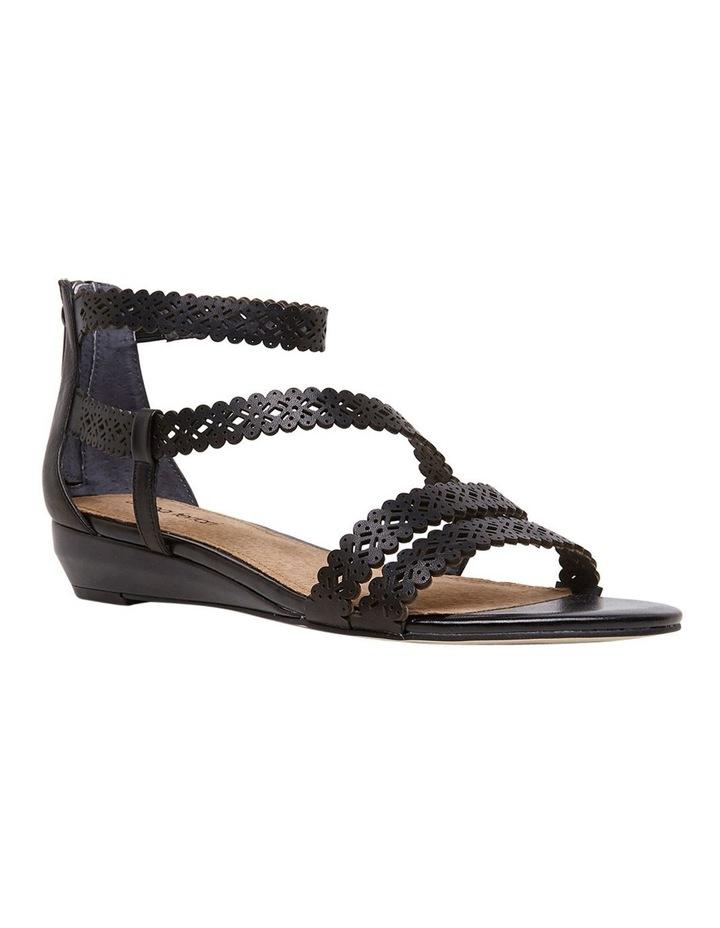 Zelena Black Sandal image 2