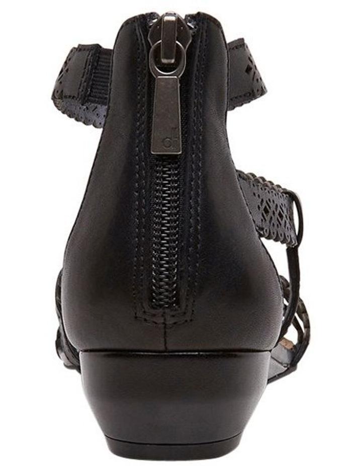 Zelena Black Sandal image 3