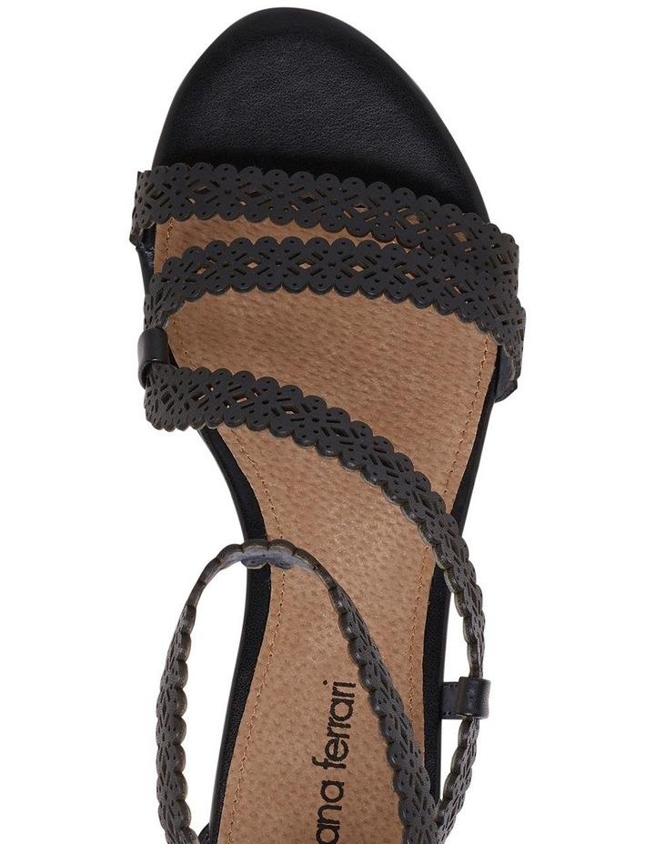 Zelena Black Sandal image 4