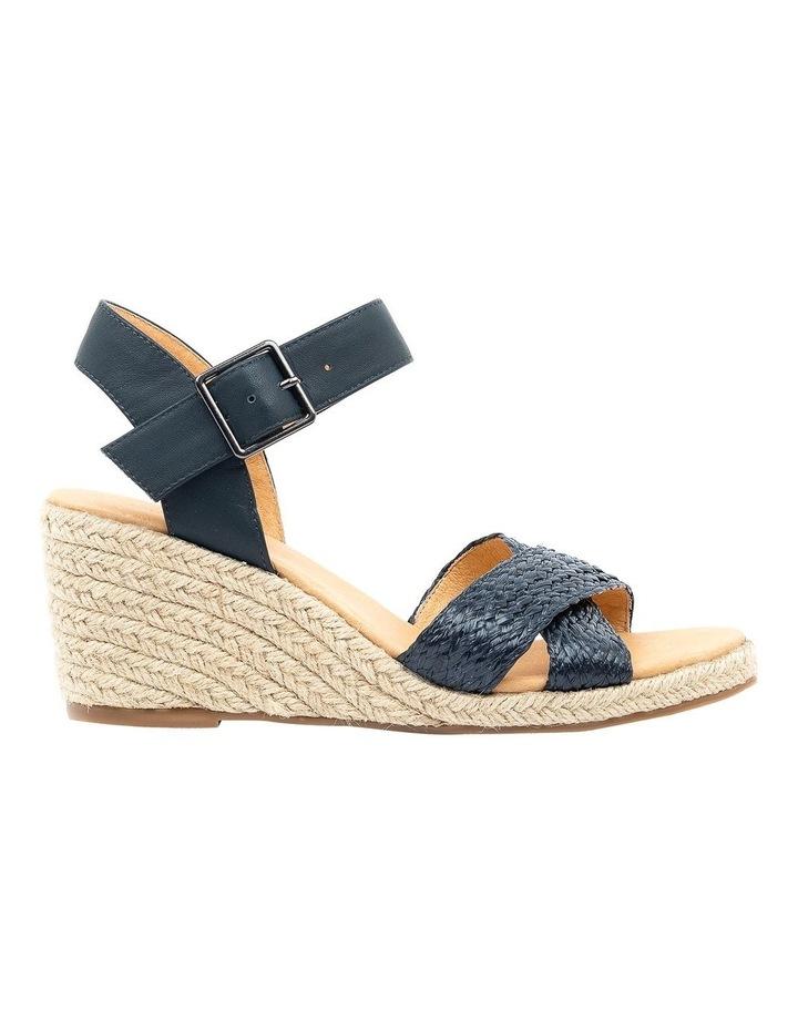 Jaylessa Navy Woven Sandal image 1