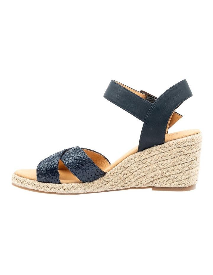 Jaylessa Navy Woven Sandal image 3