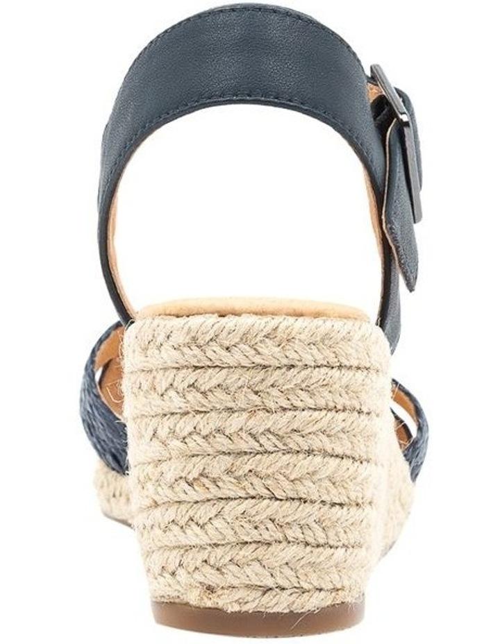 Jaylessa Navy Woven Sandal image 4