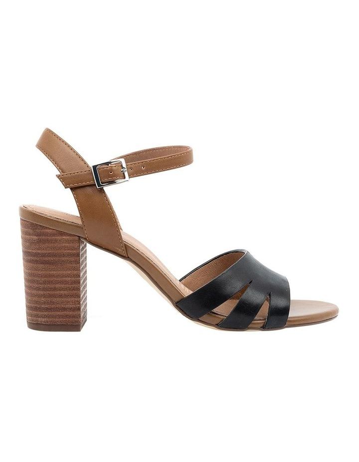 Mackenna Black/Dark Tan Sandal image 1