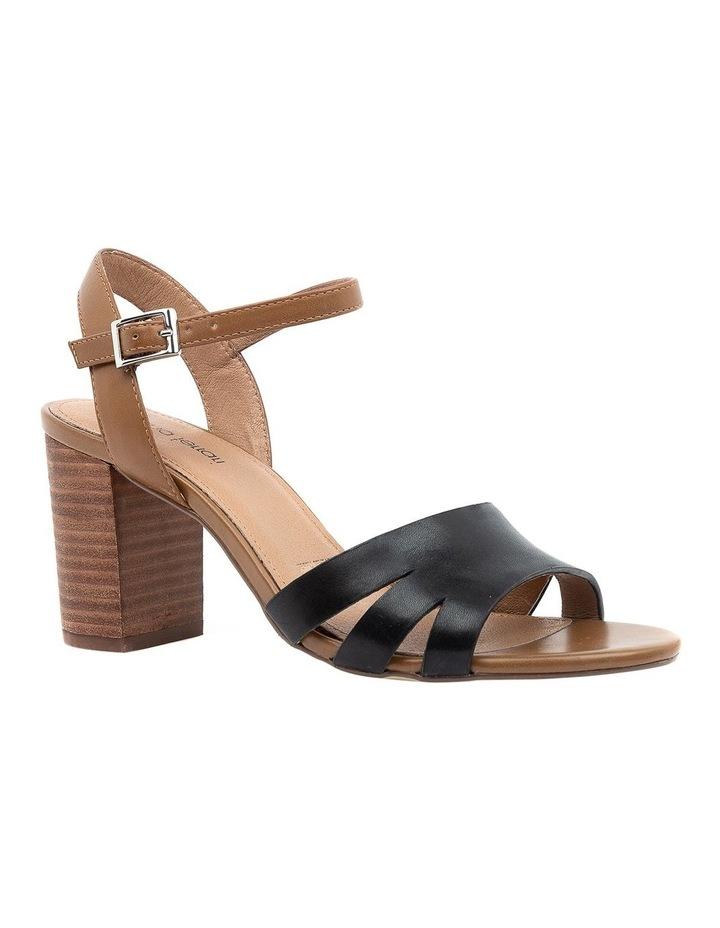 Mackenna Black/Dark Tan Sandal image 2
