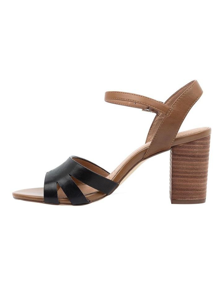 Mackenna Black/Dark Tan Sandal image 3