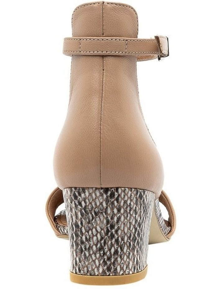 Soco Nude/Snake Sandal image 4