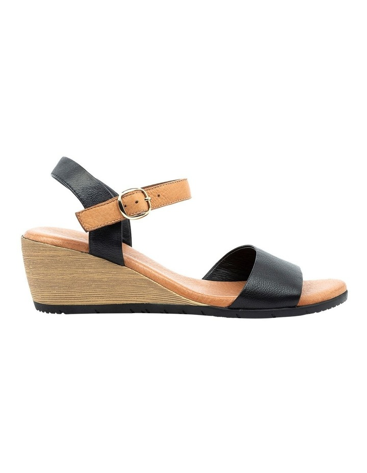 Xaida Black/Dark Tan Sandal image 1