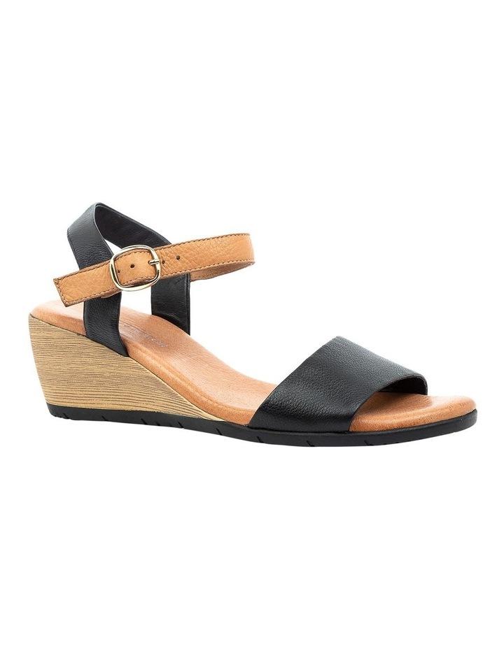 Xaida Black/Dark Tan Sandal image 2