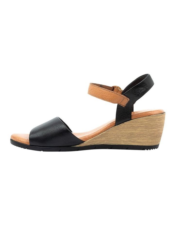 Xaida Black/Dark Tan Sandal image 3