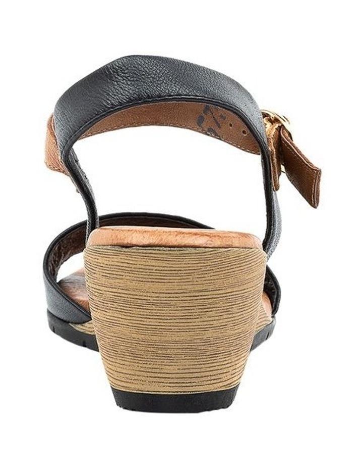 Xaida Black/Dark Tan Sandal image 4