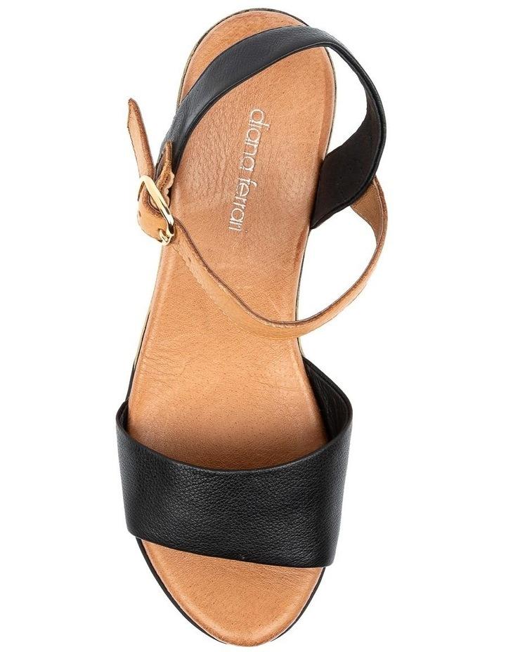 Xaida Black/Dark Tan Sandal image 5