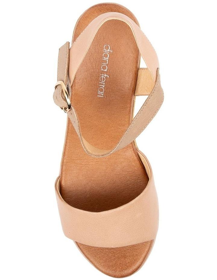 Xaida Dark Nude/Taupe Sandal image 5