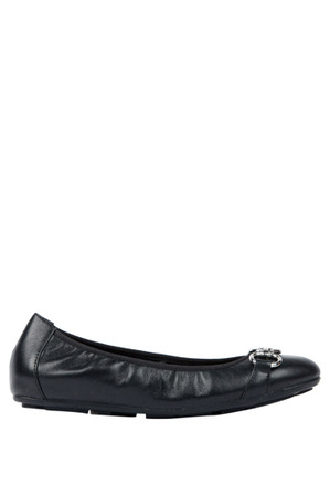 Diana Ferrari - Hemingway Black Leather Pump