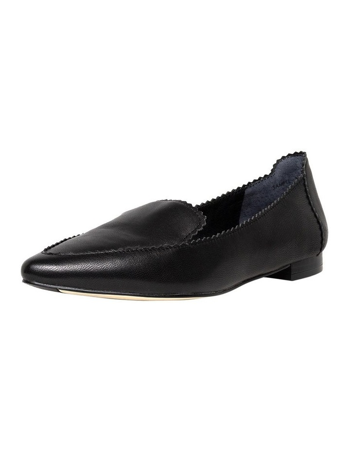 Cattee2 Black Flat Shoes image 1