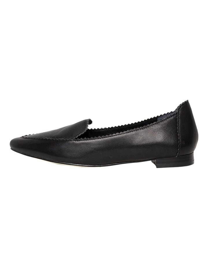 Cattee2 Black Flat Shoes image 2