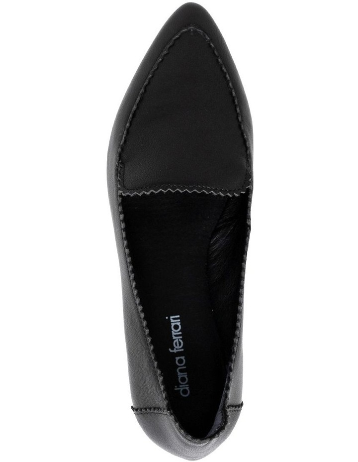 Cattee2 Black Flat Shoes image 3