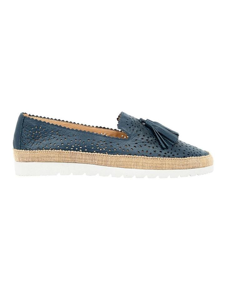 Andaluse Deep Blue Flat Shoe image 1