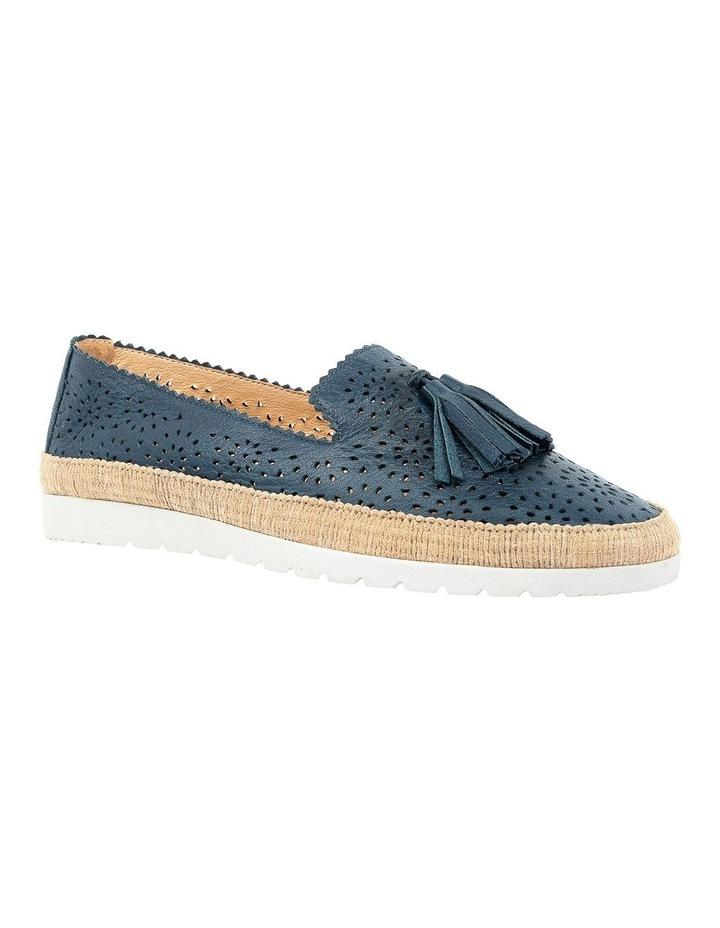 Andaluse Deep Blue Flat Shoe image 2