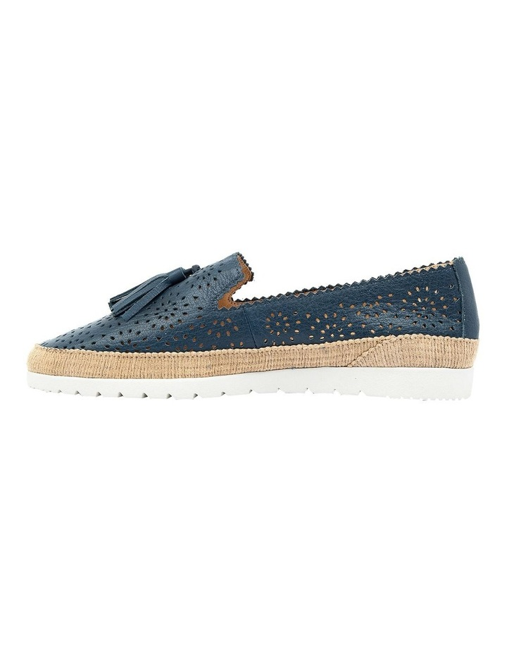 Andaluse Deep Blue Flat Shoe image 3