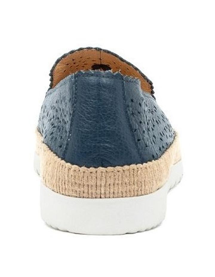Andaluse Deep Blue Flat Shoe image 4