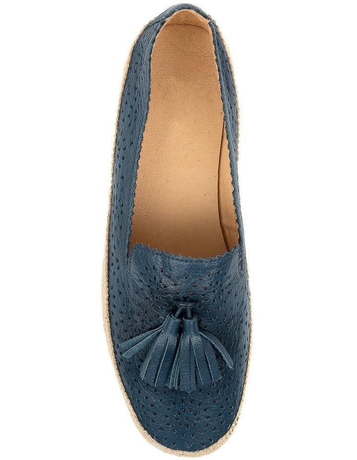 Andaluse Deep Blue Flat Shoe image 5
