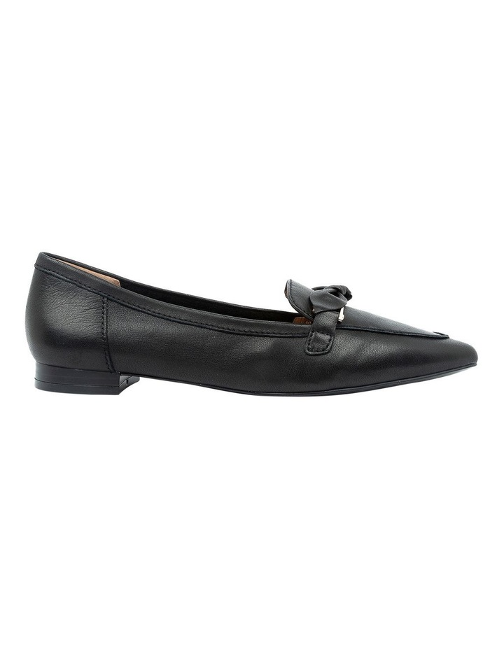 Campari Black Flat Shoe image 1