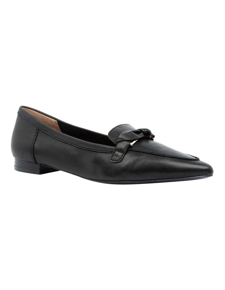 Campari Black Flat Shoe image 2