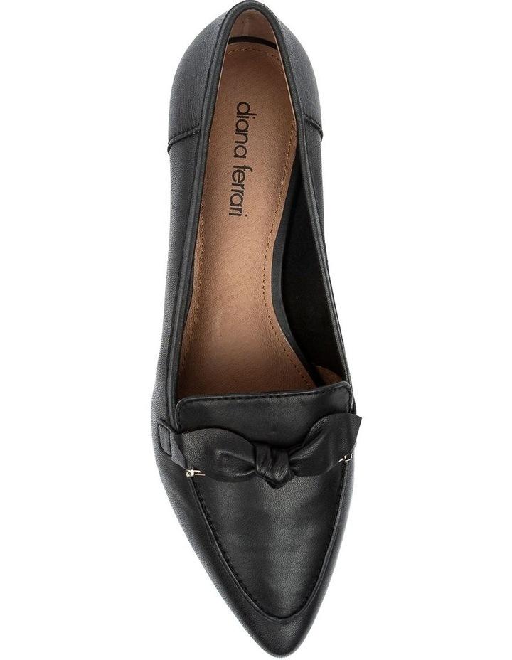 Campari Black Flat Shoe image 5