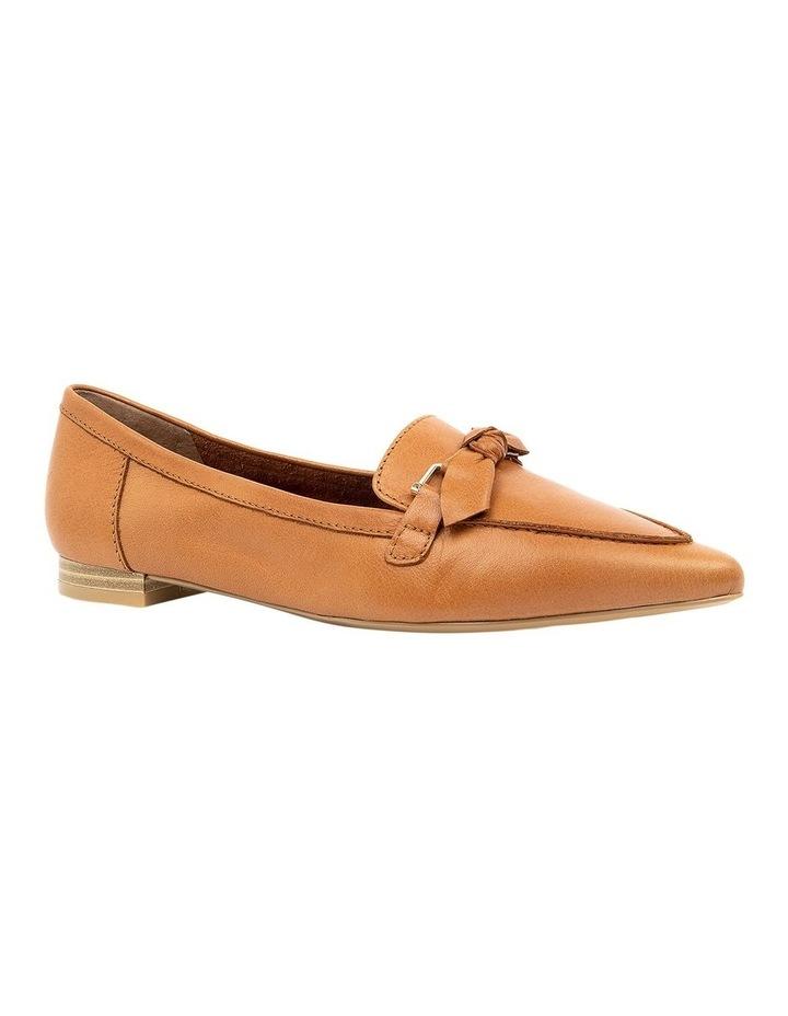 Campari Tan Flat Shoe image 2
