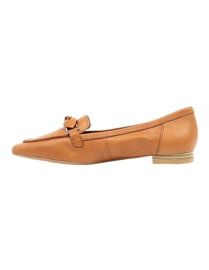 Campari Tan Flat Shoe image 3