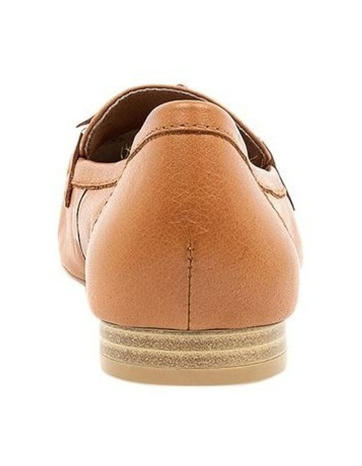 Campari Tan Flat Shoe image 4