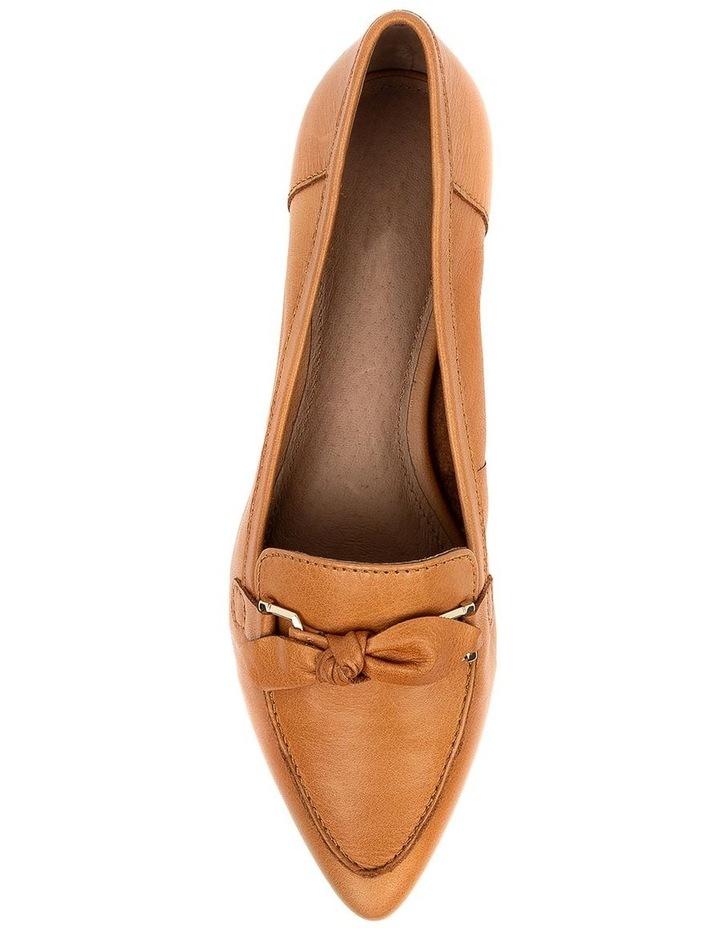 Campari Tan Flat Shoe image 5
