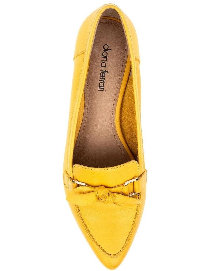 Campari Yellow Flat Shoe image 5