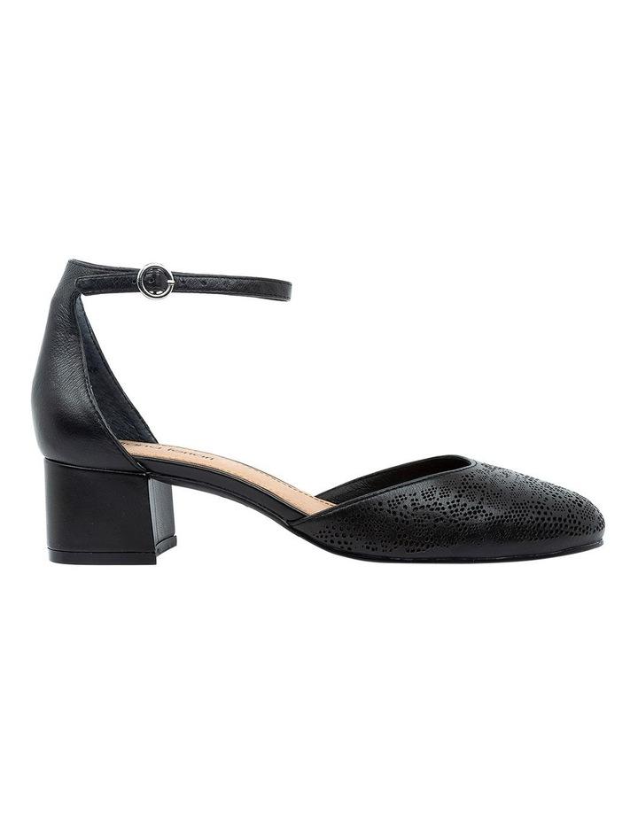 Nadette Black Heeled Shoe image 1