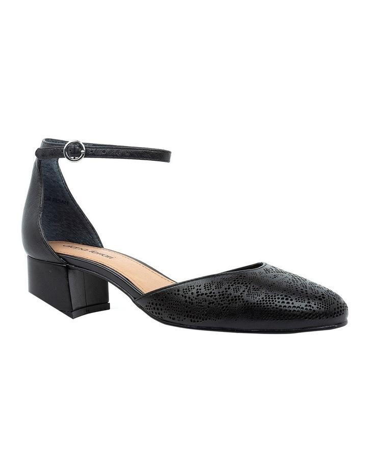 Nadette Black Heeled Shoe image 2