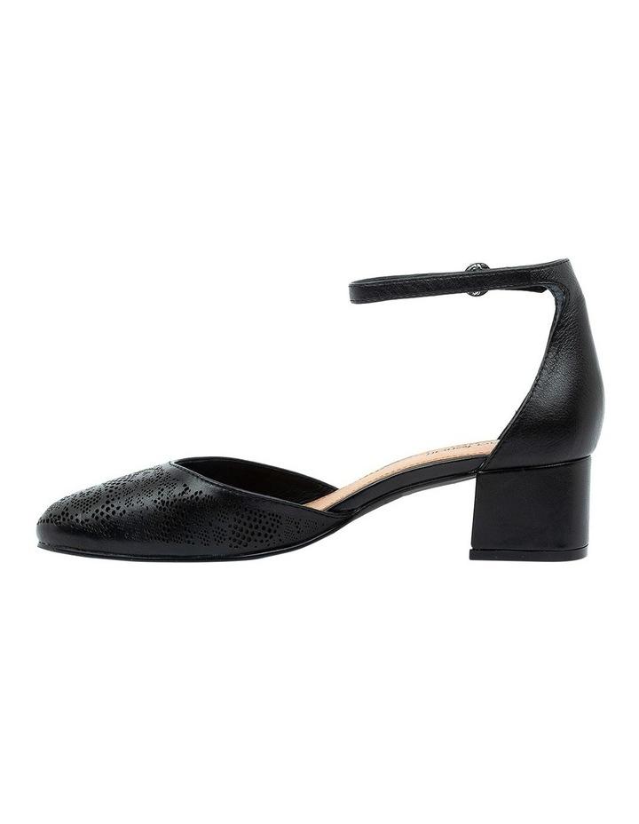Nadette Black Heeled Shoe image 3
