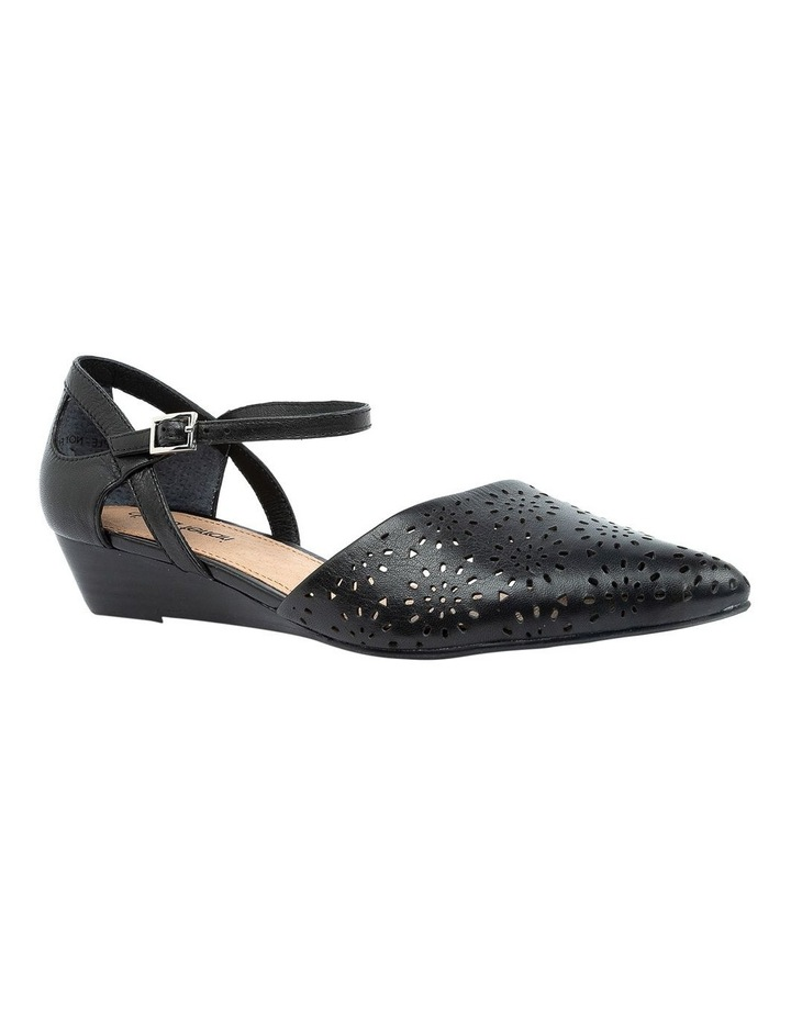 Perrey Black Heeled Shoe image 2