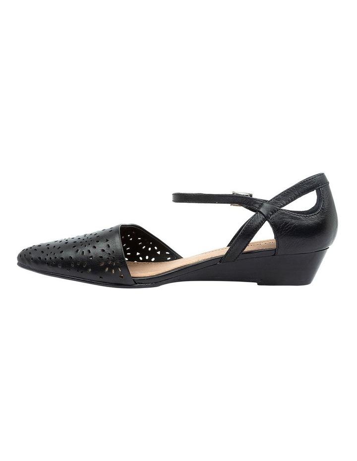 Perrey Black Heeled Shoe image 3